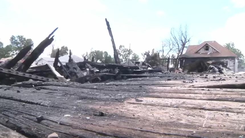 North Dakota Family Loses Three Homes In Fire