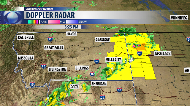 Q Weather Severe Thunderstorm Watch For Eastern Montana KTVQ - Eastern montana map