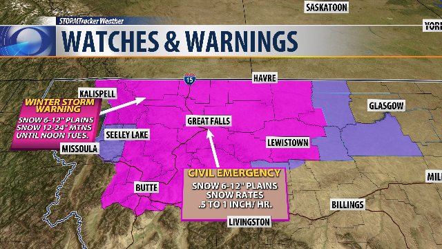 Stormtracker Weather Current Conditions Ktvq Com Q2 Continuous News Coverage Billings Mt