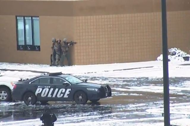 Suspect Killed After Standoff With Police At Billings