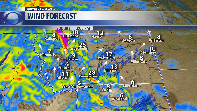 after fairly quiet saay weather sunday gives us wind and near record high temperatures to talk about
