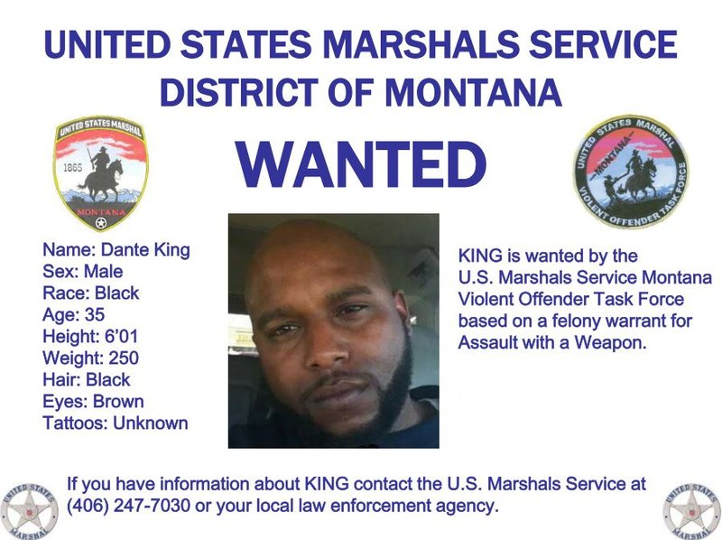Wanted In Montana Bolo Alert Issued For Donte King Krtv