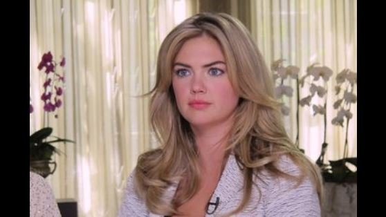 Kate Upton dresses down Guess co-founder