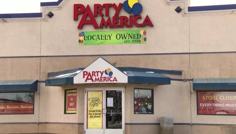 Party america closing in great falls q2 for Ebay motors warehouse in billings montana