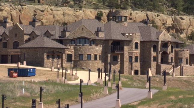 The mansion in the Ironwood subdivision in Billings. MTN News.