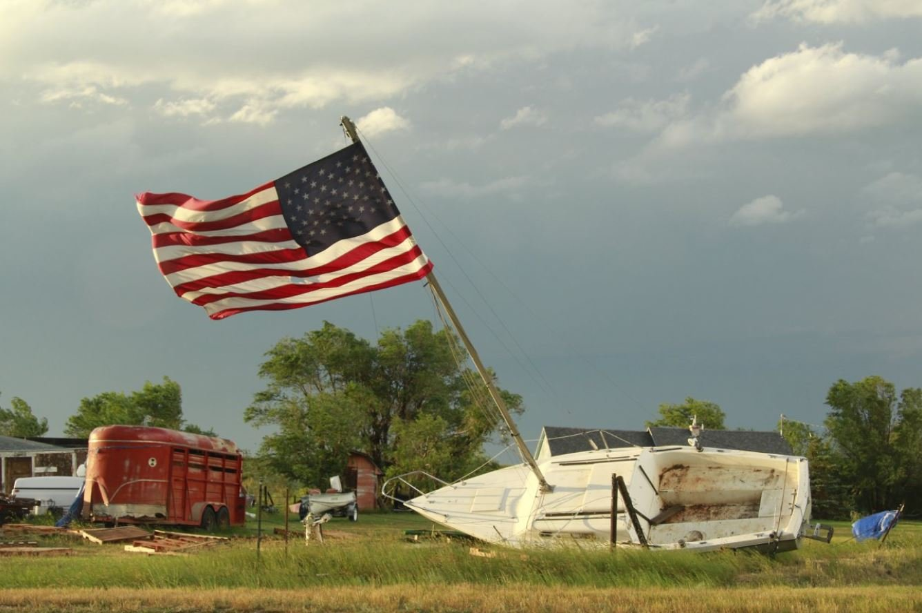 Severe storm damage has been reported in northeast Montana (Photo credit: Taylor Ordahl / Brooks Photography)