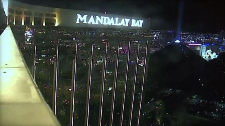 Surveillance video shows the Mandalay Bay resort in Las Vegas on Oct. 1, 2017, the night of a deadly mass shooting on a country music festival below the resort. / COURTESY LAS VEGAS METROPOLITAN POLICE
