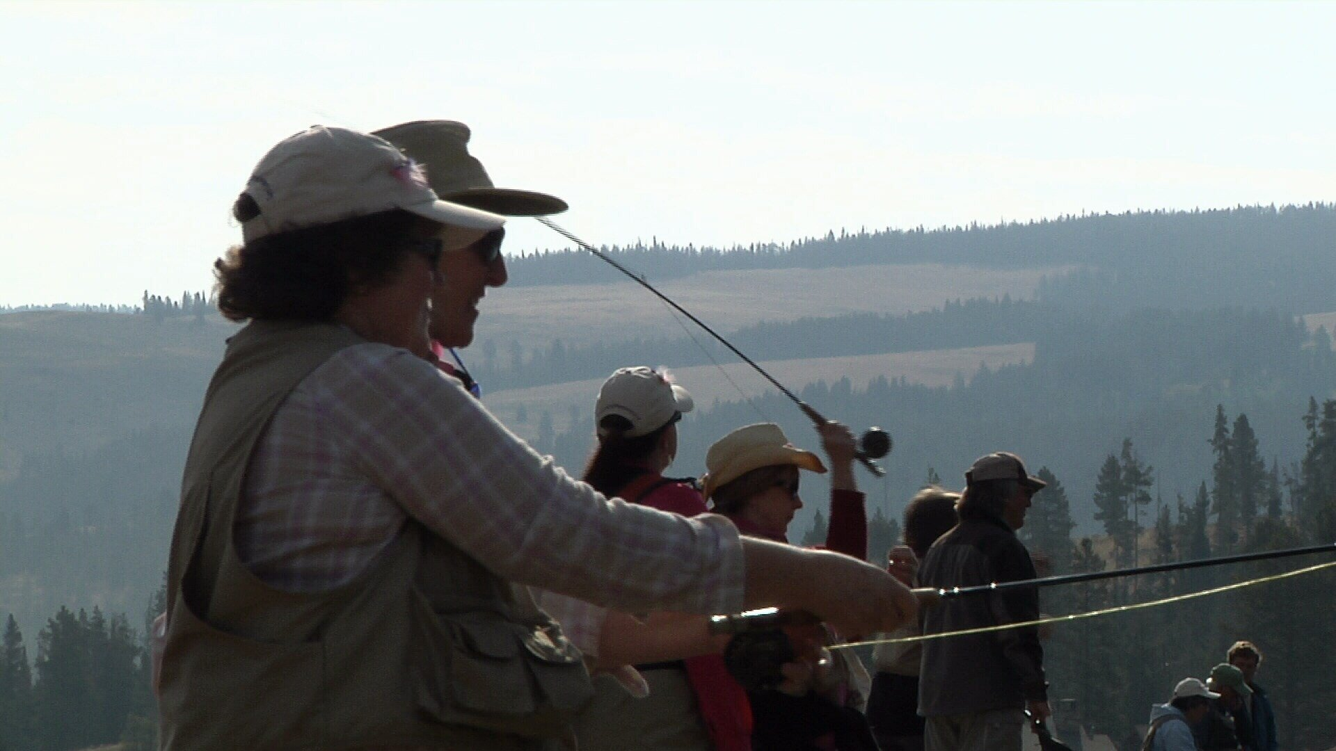 Montana breast cancer survivors find healing through fly for Bozeman fishing report