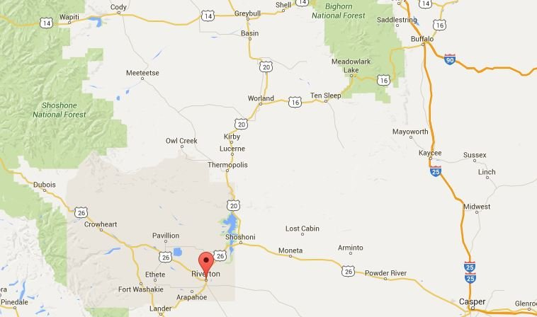 Wyoming Man Killed In Highway Crash KTVQcom Q Continuous - Wyoming highway map