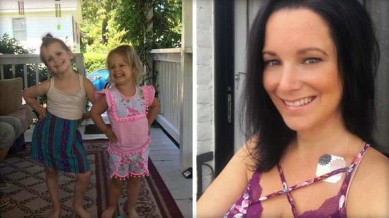 Shanann Watts and daughters Bella and Celeste in undated family photos /  CBS DENVER